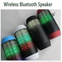 Quality Mini Wireless Bluetooth Pulse Speaker Support NFC Subwoofer Colorful 360 LED lights U-disk for sale