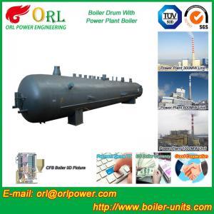 Quality Heat preservation biomass boiler mud drum ORL Power ASME certification manufacturer for sale