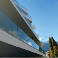 China U Channel Glass Deck Railing Systems DIY Installation For Indoor / Outdoor Venues on sale