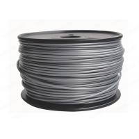 Quality 3D Printer Material Silver 3MM ABS Fialment 3D Printer Consumable , 1KG / Spool for sale