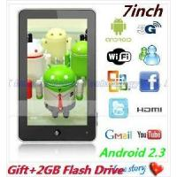 China 7 Inch Haipad M701r Telechip 8902 Android 2.3 Tablet PC MID 512MB/4GB WiFi/HDMI Multi-Touch on sale