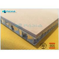 Quality High Shear Strength Thin Limestone Veneer Panels With 27 Mm Thickness for sale