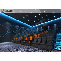 Quality Realistic Impressive 4D Movie Theater With Stable Performing Motion Seats for sale