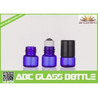 Quality Wholesale Best Cheap Blue 1ml Empty Roll On Bottle Essentail Oil Glass Bottle for sale