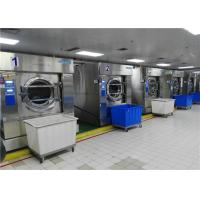 China Automatic Commercial Cloth Stainless steel 304 Washing Machine Tilting Laundry Washer Extractor on sale