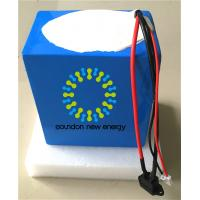 Quality 48V 25Ah Deep Cycle Lithium Ion Motorcycle Battery For Electric Scooters / Motorcycles for sale