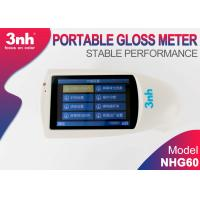 Buy cheap NHG60 Portable Gloss Meter 60 Degree , Aluminum plate Template Gloss Meter With from wholesalers