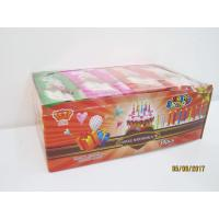 Quality Happy Birthday Candle Marshmallow Candy / 11g /4 Pcs In One Bag Twist Cotton Candy for sale