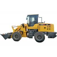 Quality Mini Front Loader Equipment  , 2 Ton Payload Small Articulated Wheel Loader for sale