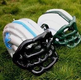 China Inflatable football helmet on sale