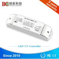 Quality Bicolor BC-422 2 channels DC12V-DC24V color temperature dimmer; Constant Voltage CCT led controller with Push Dim for sale