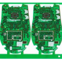 Quality FR-4 , CEM-1 , Aluminum Multilayer PCB Board plated gold for electronic products for sale