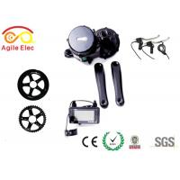 Quality Durable Electric Bike Mid Drive Motor Kit , Long Range Electric Bike Kit With Crank for sale