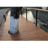 Quality 100% Natural Bamboo Deck Tiles Hardwood Style With 5 Years Warranty for sale