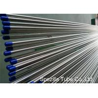 Quality Stainless Steel Welded Tube ASTM A249 , Stainless Steel Instrument Tubing 20FT Length for sale