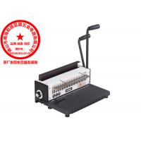 Quality Square Hole / Round Hole 3:1 Binder Double Wire Binding Machine TD-1500B34 for sale
