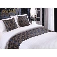 Quality Woven Fashion Design King Size Bed Runner / Cotton Quilted Bed Runner for sale
