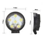 Quality 18W Watt Spot LED WORK LIGHT LAMP OFFROAD ATV BOAT JEEP TRUCK SUV 4WD for sale