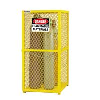 Quality 9 Cylinder Protection Gas Cabinet for Gas Cylinder Safety cabinet cage for sale
