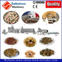 Quality 150kg/h full automatic Pet food  processing making machine for making dog food for sale