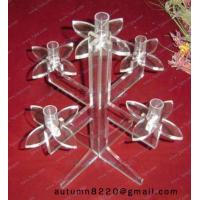 Quality CH (32) twisted Acrylic candle holder for sale