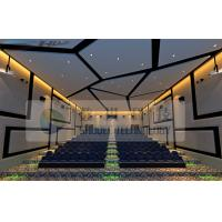 Quality Large Arc Screen 4D Cinema Equipment With 7.1 Audio System for sale