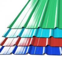 Quality Pre - Painted Galvalume Steel Building Roof Tiles / Aluminum Roof Sheet For Warehouse for sale