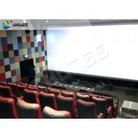 Quality Durable 4 People 4D Dynamic Cinema 4D Cinema Equipment With Motion Chair for sale