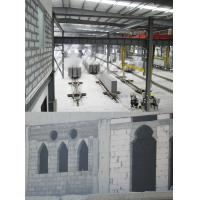 Quality Light Weight Gypsum AAC Block Production Line Concrete Block Making Plant 300000m3 380kw - 450kw for sale