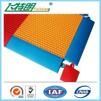 China Synthetic Badminton Court Flooring / Anti Skid Outdoor Rubber Playground Surface on sale
