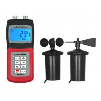 AM-4836C Air Velocity, Air Temperature, Direction Measurement Digital Anemometer With Data Memory Function for sale