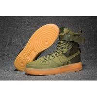 Light Bone 2017 fashion Nike AIR FORCE SF AF1 859202-339 Army Green men's trainers