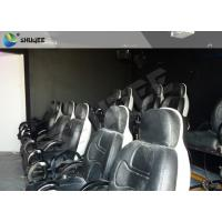 Quality Electric System 5D Movie Theater With Motion Ride Special Effect Bubble / Rain / Snow for sale