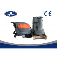 Quality Electric Battery Powered Hard Floor Brush Scrubber Machine 100 Litre Recovery for sale