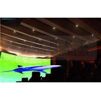 Quality Flat screen 4D movie theater , curved screen , special effect for sale