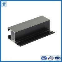 Quality Black anodize oxidation extruded aluminum profiles for LED light , tolerance 0.2mm for sale