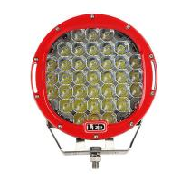 Quality 9 inch Led work light with 111Watt , 37pcs*3w high intensity CREE LEDS, Black, Red, Bule, Yellow Body color available for sale