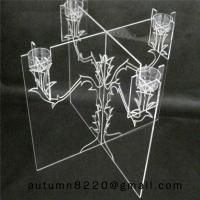 Quality CH (21) home display acrylic candle stand for sale