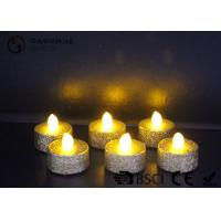 Quality Indoor / Outdoor Led Tea Light Candles With Dusted  Long Operating Life set of 6 for sale