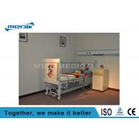 Quality Five Function Electric Pediatric Hospital Beds With Telescopic Aluminum Alloy Side Rails for sale