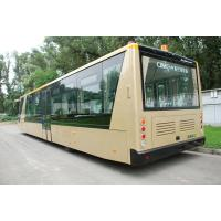 Quality 4 Stroke Diesel Engine Airport Apron Bus , International Airport Coaches for sale