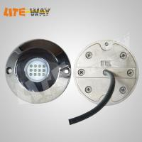 Quality 12~24V 60W Amber Squid Underwater Transom Led Light 12 Months Warranty for sale