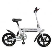 Quality USB Port Folding Electric Bike 12 Inch Scooter Light Folding Bike Max Loading 120KG for sale