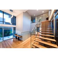 Quality Stainless steel spigot glass railing/ glass balustrade with laminated glass panel for sale