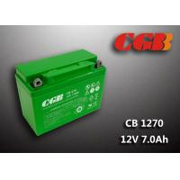 Quality Rechargeable Lead Acid Battery CB1270MC 12V7Ah Backup UPS Motorcycle Application for sale