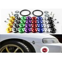 Buy Alloy Material Car Bumper Fasteners Bolt Kit With Lightweight Aluminum Forged at wholesale prices