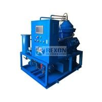 China AC 380V Multistage Centrifugal Oil Purifier Separation Machine Combination System on sale