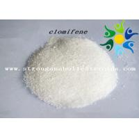 Quality Clomiphene Citrate Anti Estrogen Steroids , Injectable / Oral Anabolic Steroids For Adults for sale