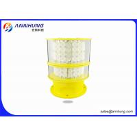 Quality Tower Crane Flashing LED Lights / Aircraft Warning Light Die Casting Aluminum for sale