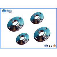 China RTJ FF RF Steel Flange Slip On Type Forged ASTM A105 / A105N NACE0175-03 on sale